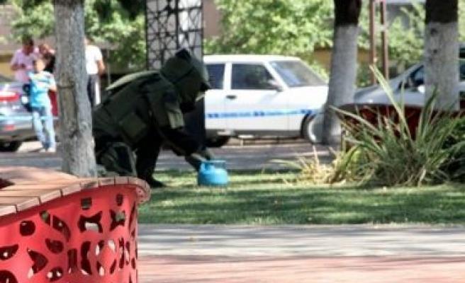 Çine'de Güvenlik Güçlerinin 'Bomba' Mesaisi