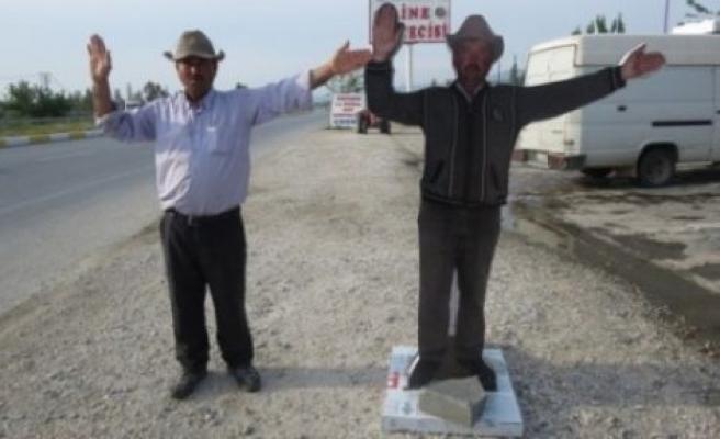 Çine'nin ilk ve tek maketten adamı