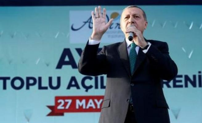 Cumhurbaşkanı Erdoğan Aydın'da konuştu