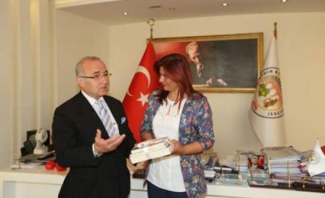 Efeler Kent Konseyi'nden Başkan Çerçioğlu'na Ziyaret