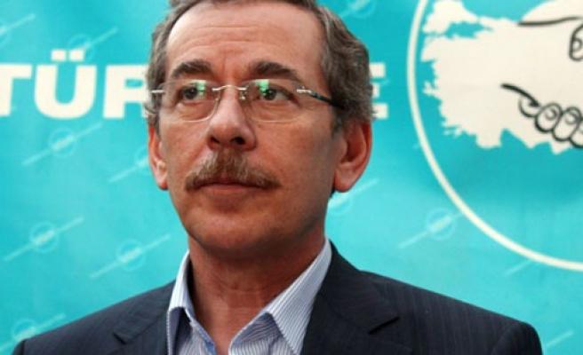 Şener: AK Parti günahlarım için tövbe ediyorum
