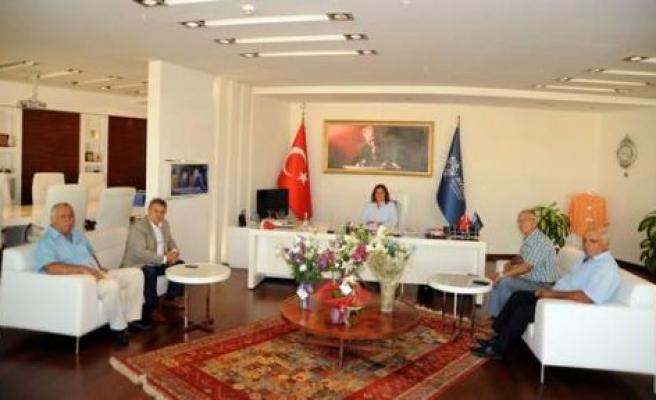 Esnaf Odalarından Başkan Çerçioğlu'na Ziyaret