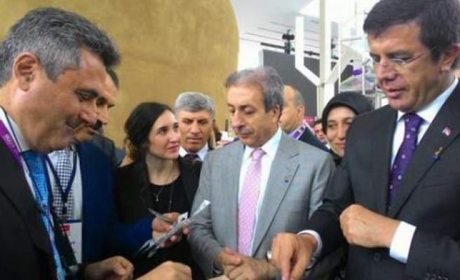 EXPO Milano'da Türk zeytin ve zeytinyağı tanıtımına Zeybekci desteği