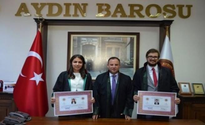 Genç Avukatlar Ruhsat Aldı
