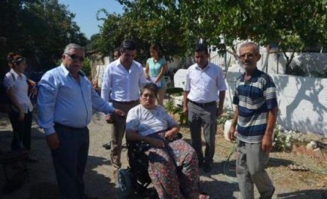 Germencik Belediyesi 3 Engelli Vatandaşı Daha Sevindirdi