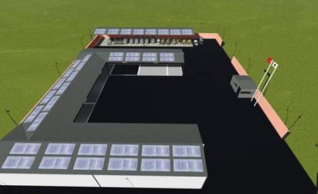 Güneş Panelli Yeni Kademe Binası Projesi
