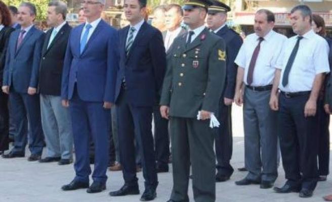 İncirliova'da 30 Ağustos Zafer Bayramı Kutlamaları