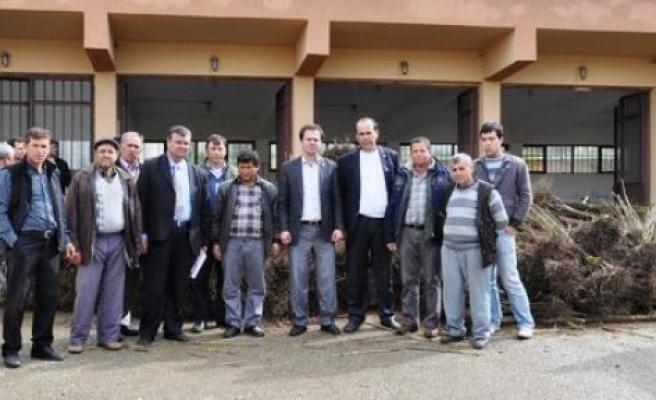 Karpuzlu'da 6 bin fidan dağıtıldı