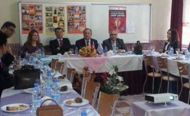 Mesleki ve Eğitim toplantısı yapıldı