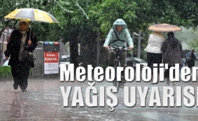 Meteroloji, kuvvetli yağışa karşı Aydınlıları uyardı