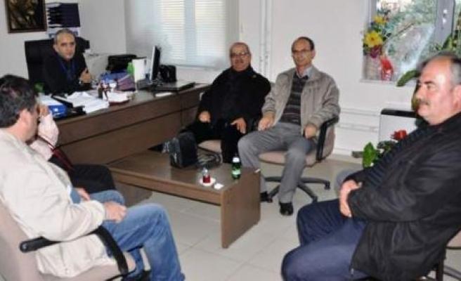 MHP İlçe Teşkilatı, Şahin'i ziyaret etti