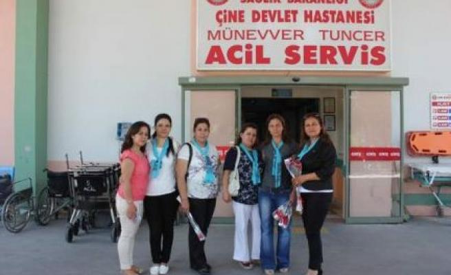 MHP'liler Hemşirelerin Gününü Kutladı