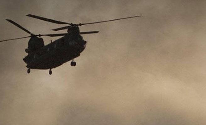 NATO helikopteri düştü: 2 ölü