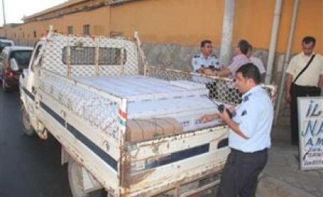 Nazilli'de 1285 kilo kaçak kuru incire el kondu
