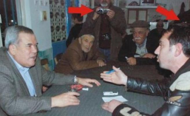 Osman Aydın kameraları görmemiş!