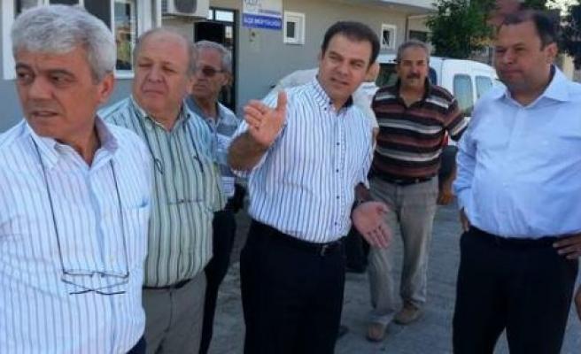 Özkaya Belediye'yi uyardı