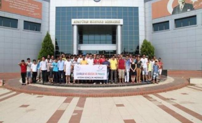 Şehirler ve Kültürler Projesi Kapsamında ADÜ'yi  82 Öğrenci Ziyaret Etti