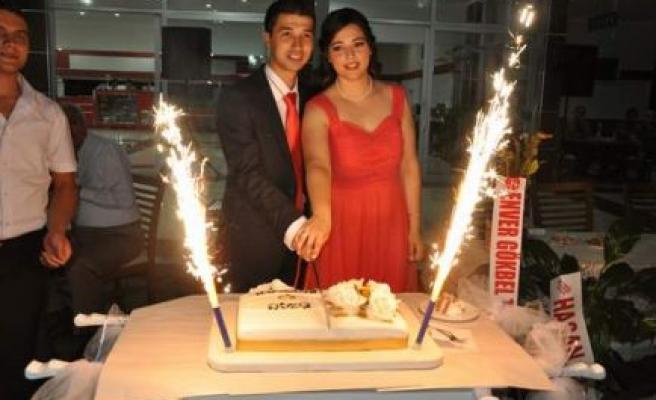 Sevkan Atıgan ile Neziha Akbulut nişanlandı