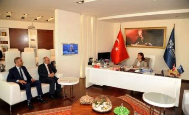 Tarım Kredi Kooperatifi Başkan Çerçioğlu'nu Ziyaret Etti