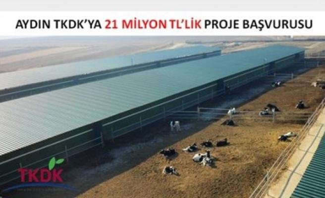 TKDK'dan Aydın'a 21 Milyon TL'lik Yatırım