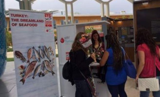 Türk levreği ve çipurası Expo Milano'nun yıldızı