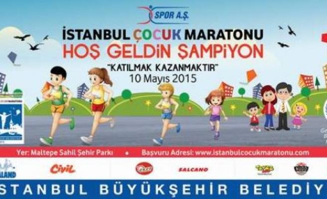 Türkiye'nin İlk Çocuk Maratonu 6 Bin Şampiyonunu Bekliyor