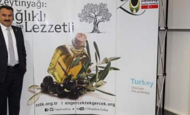 Üç kıtada Türk zeytin ve zeytinyağının tanıtımını yapacak