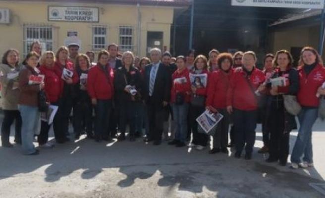 Ünal, Karpuzlu'da vatandaşlar ile buluştu
