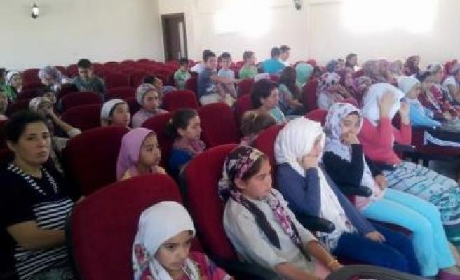 Yaz Kur'an Kursları eğitime başladı