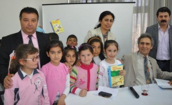 Yazar Erdoğan, Çineli öğrenciler ile bir araya geldi