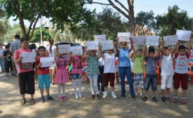 Yılın Karne Töreni Evciler İlkokulu'nda yapıldı