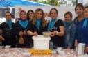 AK Parti Çine Kadın Kolları Aşure dağıttı