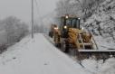 Çine'de Kar Yağışı Sonrası Kapanan Yollar...