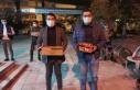 AK Parti Çine Gençlik, Kandil Simidi dağıttı