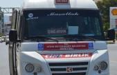 Kısıtlamada, Çine Birlik Minibüs seferleri