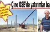 Çine OSB'de yatırımlar başladı