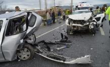Çine'de Kaza; 4 Yaralı