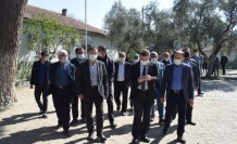 AK Partili Özmen, Çine'de esnaf ve vatandaşlarla buluştu