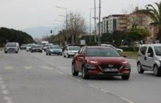 Aydın'da araç sayısı arttı