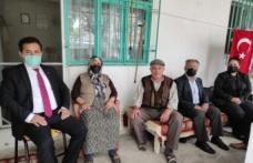 MHP Çine İlçe Başkanlığı, Şehit ailelerini ziyaret etti