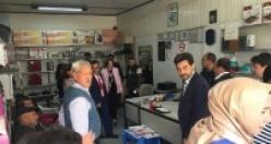 MHP Milletvekili Deniz Depboylu, Çine'de 'Evet' Turu Yaptı