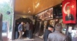 Çanakkale Savaşı gezici müzesi Çine'deydi.
