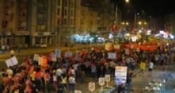 """Çine'de """"Cumhuriyet ve Demokrasi Yürüyüşü"""" gerçekleştirildi"""