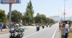 Cumhurbaşkanlığı Türkiye Bisiklet Turu Çine'den geçti