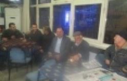 Çine Belediye Başkanı Salih Dinçer kahvehane ziyareti