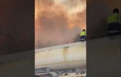 Karpuzlu orman yangınına müdahaleye devam ediyor