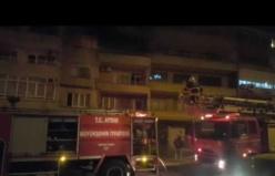 Kömür sobası evi yaktı-3