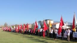 Çine'de, 29 Ekim Cumhuriyet Bayramı Kutlandı