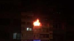 Kömür sobası evi yaktı-1