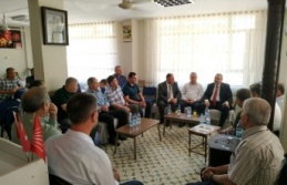 CHP'liler Parti Binasında Bayramlaştı